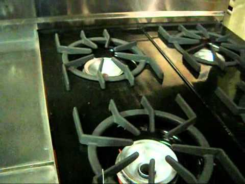 Viking 6 Burner Range With Griddle