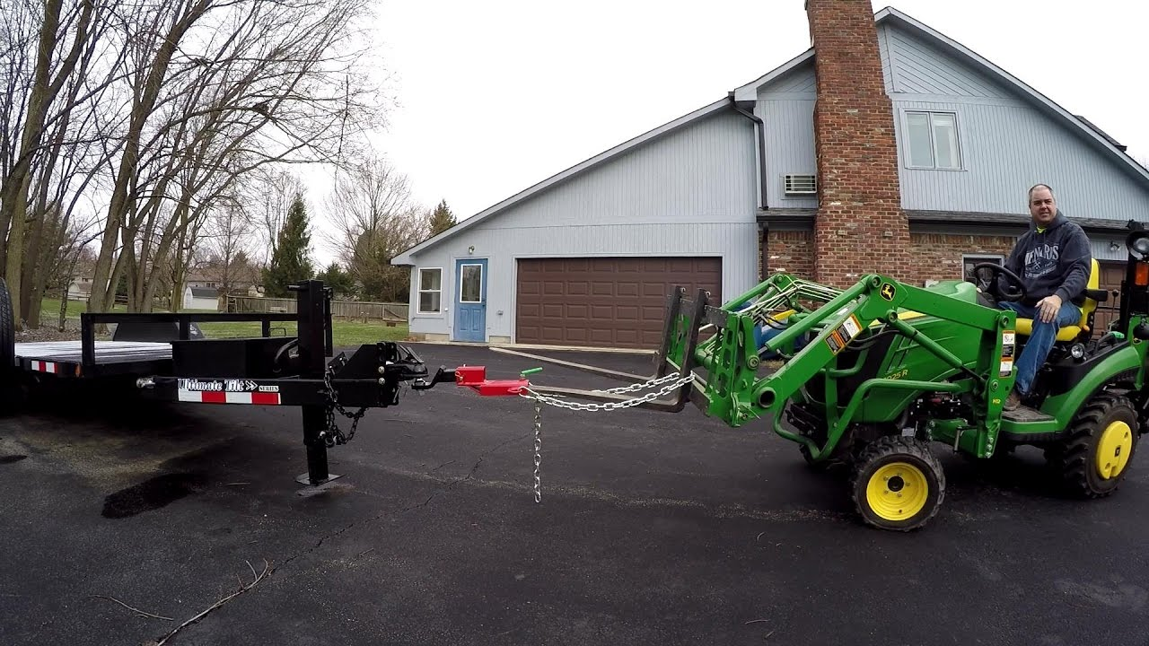 Loader Mounted Receiver Hitch - Tractor Time With Tim