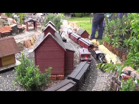 Wild West Garden Railway