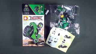 LEGO Ninjago Movie Xe máy Minifigures (knock-off) DLP9060 [ĐỒ CHƠI LẮP RÁP]