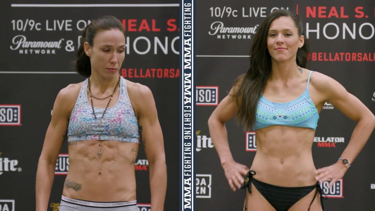 d16963cf4f Bellator 212 Official Weigh-Ins  Juliana Velasquez