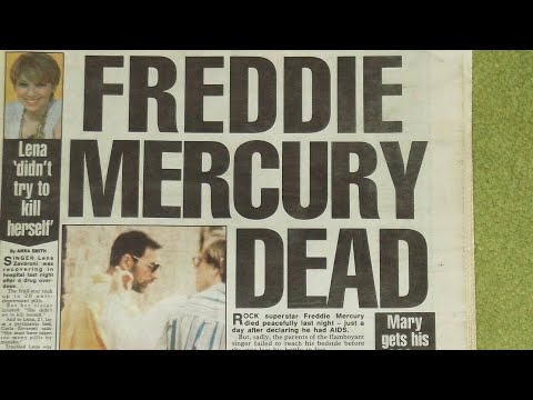 Freddie Mercury - News Reports 1991 (November 25th)