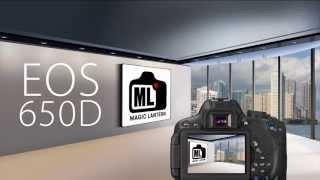 Magic Lantern Installation - EOS 650D [GER]