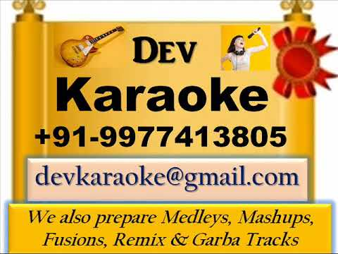 Jai Sharde Vagishwari   Marathi Song By Asha Bhosle Full Karaoke by Dev