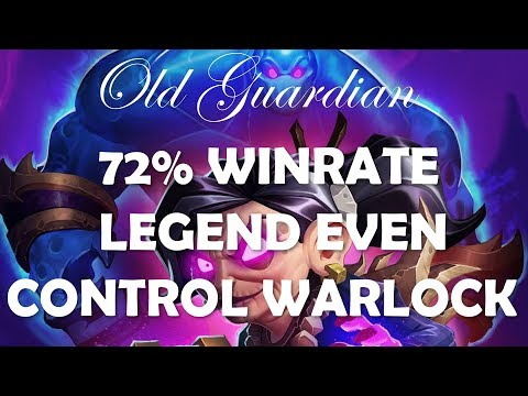 72% winrate Legend Even Control Warlock (Hearthstone Rastakhan off-meta deck guide)