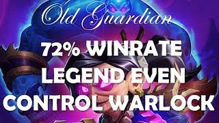 72% winrate Legend Even Control Warlock (Hearthstone Rastakhan off-meta deck guide)