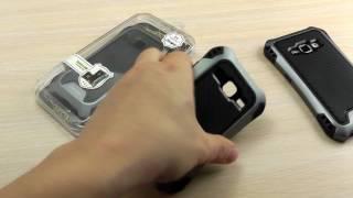 "ОБЗОР: Усиленный Чехол-Накладка для Samsung Galaxy J1 mini Nxt (J105) 2016 года ""Caseology"""