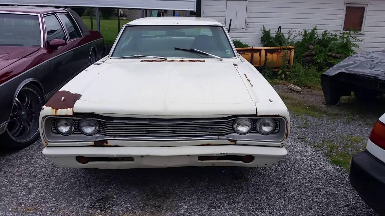 1969 Dodge Coronet Super Bee barn find