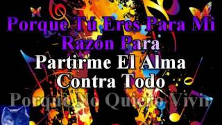 karaoke Yo Sin Tu Amor Grupo Limite