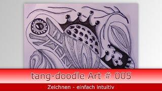 wie zeichne ich doodle Art // how to draw doodle art # 005