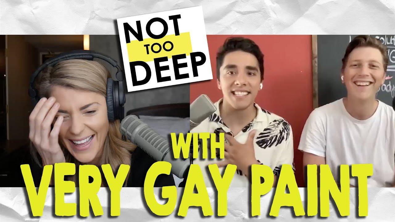 VERY GAY PAINT on #NotTooDeep // Grace Helbig