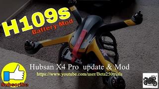 Hubsan x4 pro update & mod