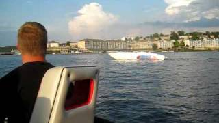Lake of the Ozarks shoot out  fun run Apache 41 powerboat