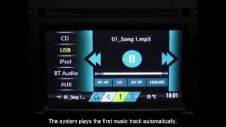 Scorpio - S10 -  Playing music via CD/USB/AUX
