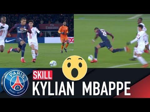 flashé à 36 kmh  Kylian Mbappé  Paris SaintGermain vs Lille