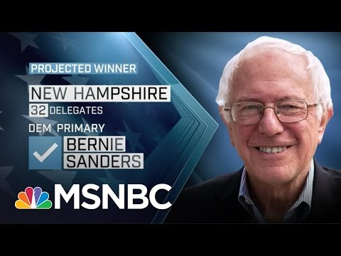 Donald Trump, Bernie Sanders Win New Hampshire | MSNBC