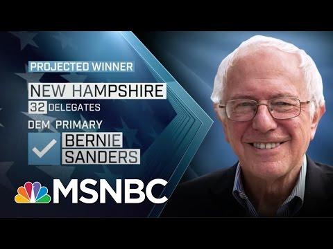 Donald Trump, Bernie Sanders Win New Hampshire | MSNBC
