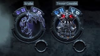 Darksiders Warmastered Edition PC: Scythe & Tremor Gauntlet max level - How to fast level up