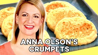 Professional Baker Teaches You How To Make CRUMPETS!