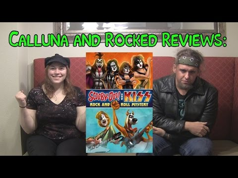 Calluna and Rocked Reviews: Scooby Doo & KISS: Rock and Roll Mystery