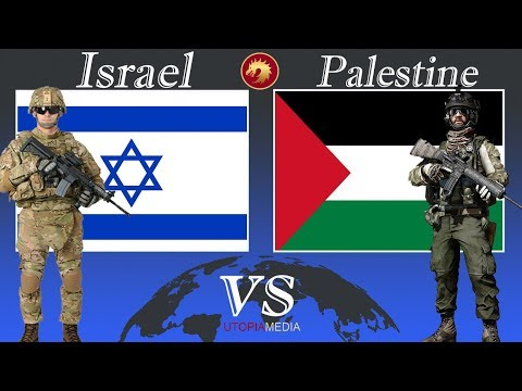 ISRAEL Vs PALESTINE Military Power Comparison 2021
