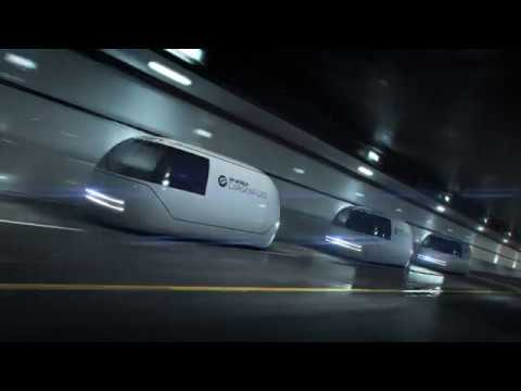 Foster + Partner's high-speed cargo transport concept will premiere in Dubai