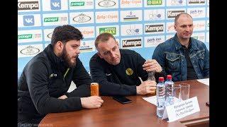 Пресс-конференция. Астраханочка - Ростов-Дон (22.04.2018)