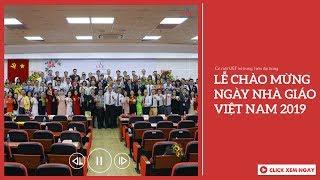 UEF Lễ chào mừng ngày Nhà giao Việt Nam năm 2019