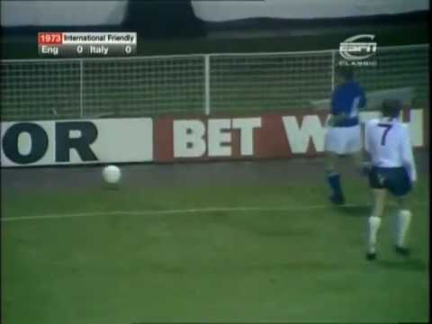 England - Italia 0-1, Wembley Stadium, 14 novembre 1973