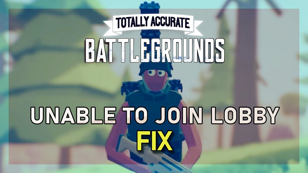 Matchmaking not working totally accurate battlegrounds