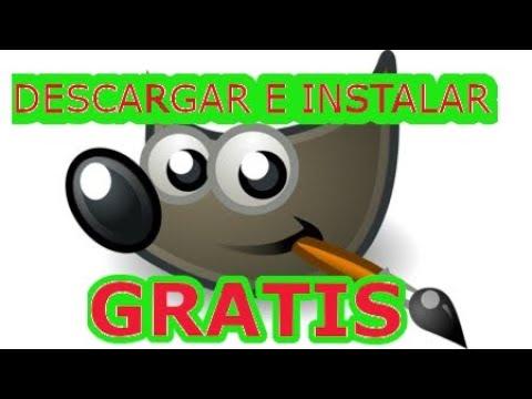 Como Descargar Gimp Gratis Ultima Versión Para Windows 2020 Full Español Youtube