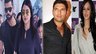 युवराज पर मेहरबान हुआ लेडी लक...!   IPL 2016: Hazel Keech Cheers, Yuvraj Singh Stars in SRH vs KKR