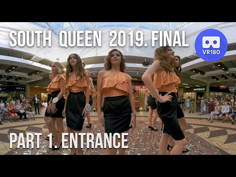 VR180 3D. Южная Королева 2019. Финал. Выход