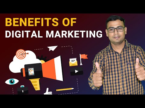 Benefits of Digital Marketing | Digital Marketing | Digital Marketing Tutorial for beginners