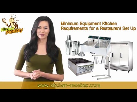 Minimum Equipment Requirements for a Restaurant Set Up