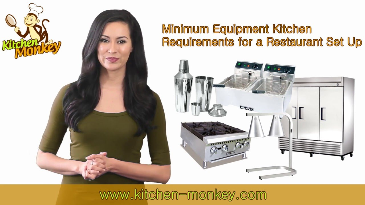 Minimum Equipment Requirements for a Restaurant Set Up - YouTube