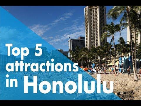 TOP FIVE ATTRACTIONS IN HONOLULU // WHYGO