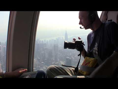 Complete Helicopter Flight over Ground Zero New York