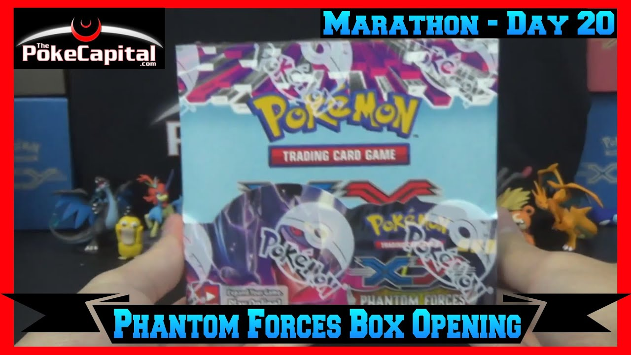 Booster box opening marathon xy phantom forces box day 20 youtube