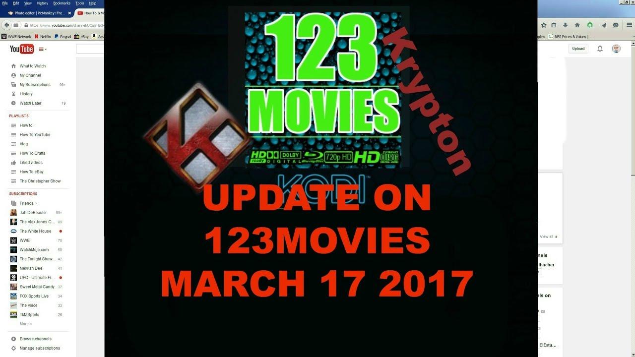 Update on 123Movies on Kodi March 17 2017