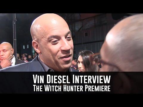 Vin Diesel Interview - The Last Witch Hunter Premiere