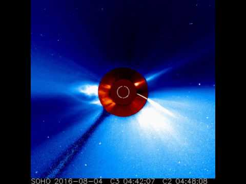 SOHO Spacecraft Views Comet Plunging Toward the Sun