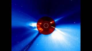soho spacecraft views comet plunging toward the sun