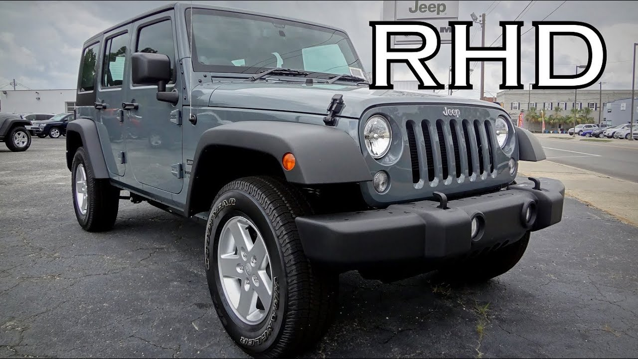 Superb 2014 JEEP WRANGLER UNLIMITED SPORT RIGHT HAND DRIVE MAIL CARRIER RHD