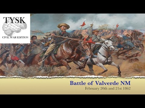 1862-07 Battle of Valverde New Mexico