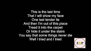 Keane - This Is The Last Time (Lyrics)