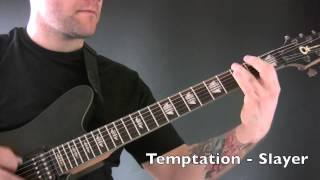 Heavy Metal Lesson 5 - Riffs To Improve Your Heavy Metal Rhythm Playing
