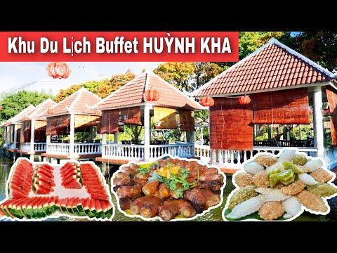 Khu du lịch Huỳnh Kha rộng đẹp độc đáo với Buffet 159k thơm ngon đặc biệt | Khương nhựt minh