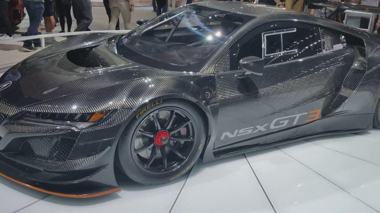 Expensive 500 000 Acura Nsx Gt3 Race Car Carbon Fiber All Over