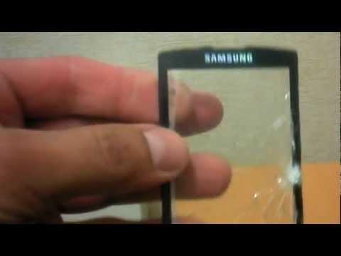 Тест на прочность - стекло смартфона Samsung I8910 Omnia HD